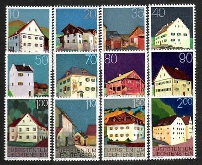 Systematisch Liechtenstein Nr Postfrisch 694/05 ** Freimarken Bauten 1978