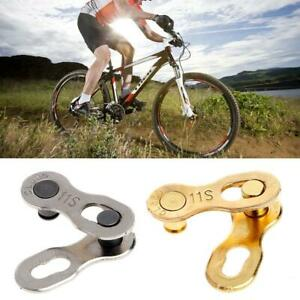 2PCS Portable Bicycle Chain Master Link Joint Connector 11 Speed Quick Clip  Hot