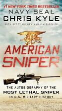 American Sniper : The Autobiography of the Most Lethal Sniper in U. S. Military History by Chris Kyle, Jim DeFelice and Scott McEwen (2013, Paperback)