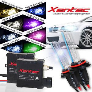 Xentec Super Compact 9005 HB3 6000K Diamond White HID Xenon Kit High Beam 35 Wat