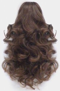 Details About 12 Shoulder Length Loose Curls Curly Hair Ponytail Hairpiece Claw Clip Dawn