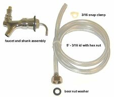 Draft Beer Tower Beer Shank Faucet Hose Kit D6m 3afh