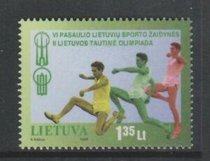 Litauen - 1998, Welt Litauisch Spiele Briefmarke - M/M - Sg 679