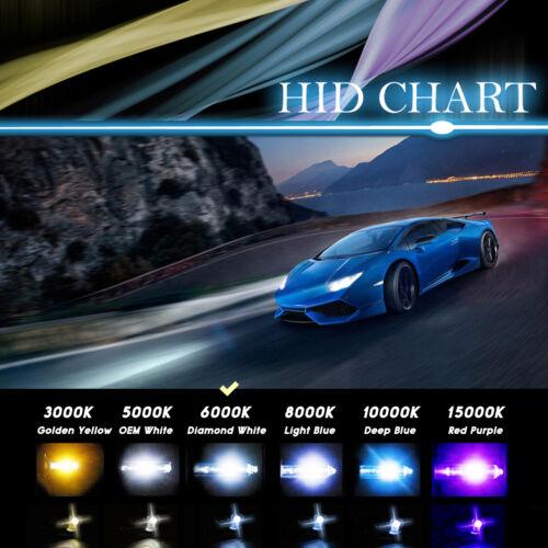 Auto Xenon Light 35W HID Kit 9005//HB3 Suzuki Accord Light Hi//Lo H13 3k 880//881