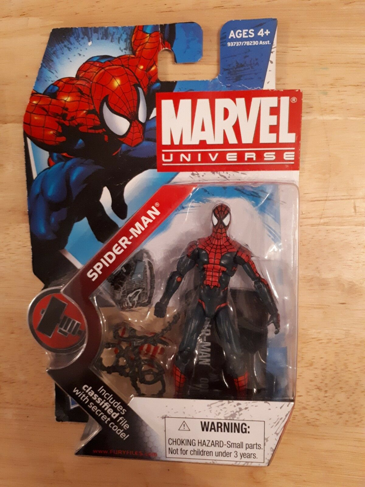 MARVEL FIGURE UNIVERSE SPIDER-MAN 3.75