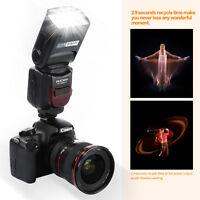 K&F Concept KF590 E-TTL Speedlite Wireless Flash for Canon Rebel T1i T3 XT XSi