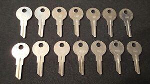 14-Taylor-7NX-Y11-Key-Blanks-For-YALE-Locks