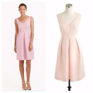 Image Is Loading J Crew Kami Dress In Clic Faille Size