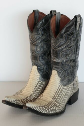 Western Cowboy boy Buffalo peau 43 9 de Bottes Cobra Authentique Usa de cow T 4wAgz8