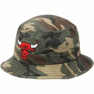 Image is loading Chicago-Bulls-Adidas-Camo-Bucket-Hat be2ef8056ce