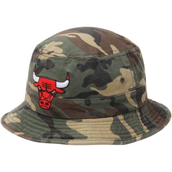 Details about Chicago Bulls Adidas Camo Bucket Hat 971d53722e61