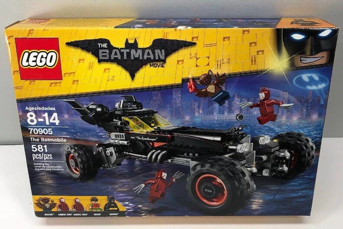LEGO Batuomo Movie The Batmobile 2016 (70905) SEALED Robin Kabuki Twin uomo-Bat