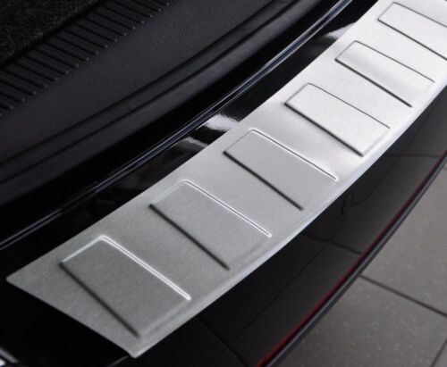 BMW 7 F01 Saloon Arrière 2008-2015 Protection Pare-chocs Garde en Acier TR Brossé