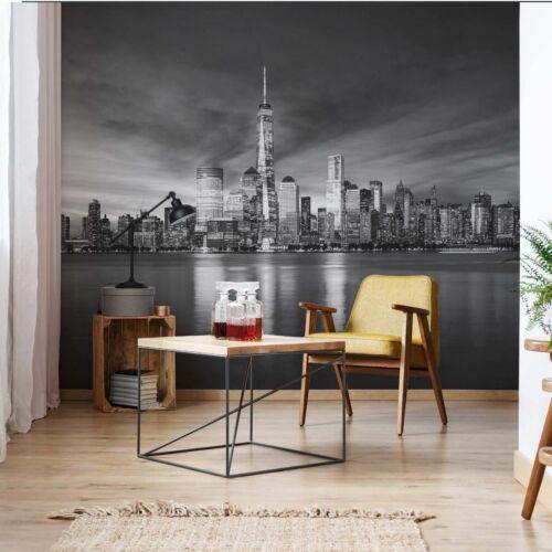 Géant Papier Peint 368x254cm New York city Noir Blanc Mural pour Chambre à coucher