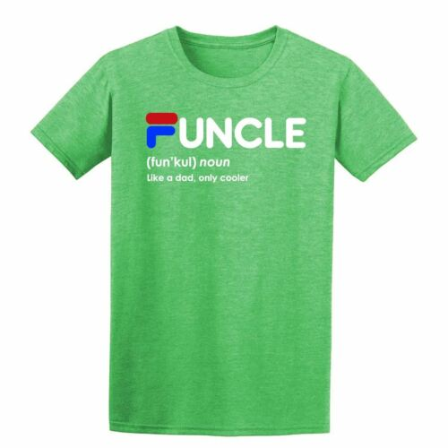 Funcle Noun Like A DAD Only Cooler Fathers Birthday Gift  Mens T-Shirt
