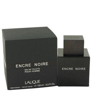 Encre Noire by Lalique Cologne for Men 3.4 oz New In Retail Box