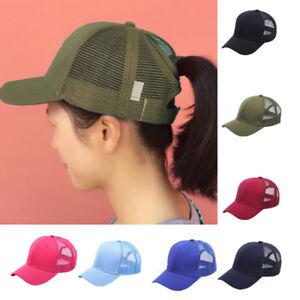 Women Baseball Cap Girl Snapback Outdoor Caps Female Hats Mesh Net ... 1f75d8cbcbe