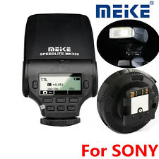 MEIKE MK-320-S SPEEDLITE FLASH Sony TTL/M/S1/S2  A3000  A6000  NEX-5  NEX6  NEX7