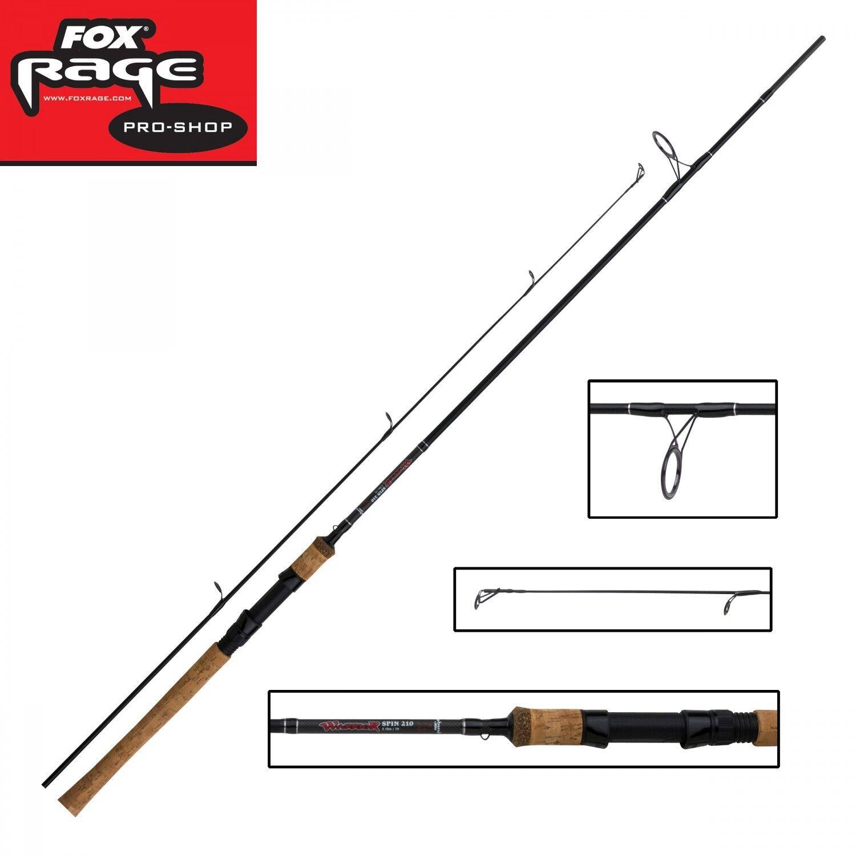 Fox Rage Hechtrute Warrior Spin 2,10m 20-60g Spinnrute, 2-teilige Hechtrute Rage Zanderrute 3da732