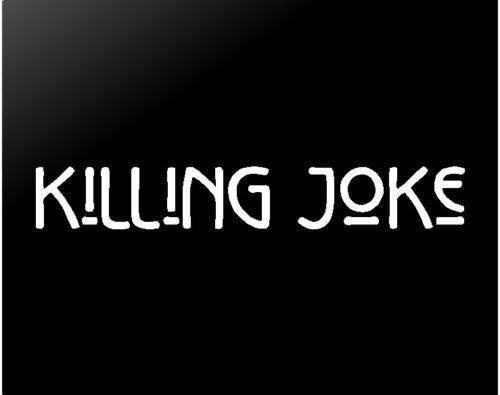 Killing Joke Vinyl Decal Car Window Laptop Rock Band Sticker