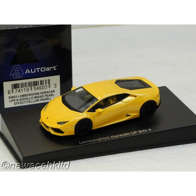 LAMBORGHINI HURACAN LP610-4(yellow LP610-4(yellow LP610-4(yellow MIDAS PEARL EFFECT YELLOW AUTOart 1 43 fd393d