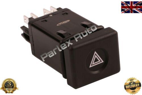 HAZARD Lumière d/'urgence clignotant Interrupteur pour Renault R9 7700 765 726