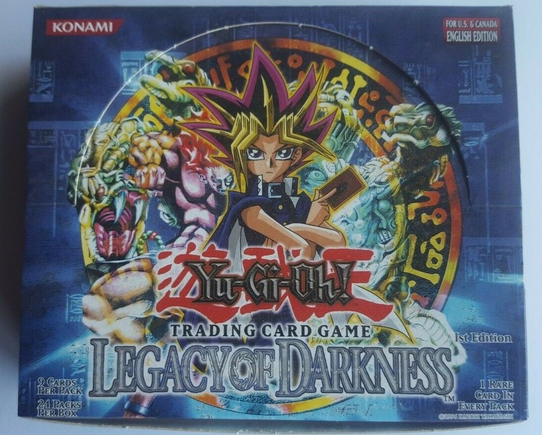 YU-GI-OH EMPTY LEGACY OF DARKNESS 1ST 1ST 1ST EDITION