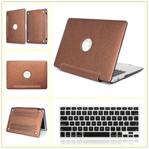 "Wooden Glitter Matte Hard Case+Keyboard Cover for MacBook Air Pro 11/"" 12/""13/"" 15/"""