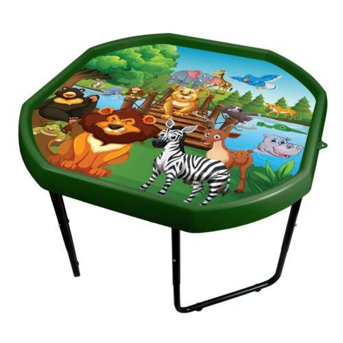 Height Adjustable Stand. Kids Tuff Spot Play Tray Animal World Play Mat