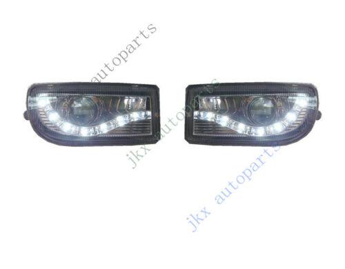 LED Lens DRL Bumper Fog Light Lamp For Toyota Land Cruiser LC100 FJ100 1998-2007