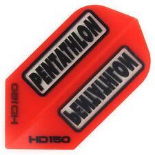 30 Pentathlon HD150 Slim Flights - Extra Stark 150 Micron - Rot