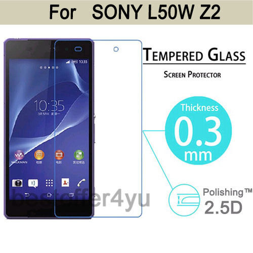 HQ Premium Tempered Glass Film Cover Guard Screen Protector For Sony Xperia Z2