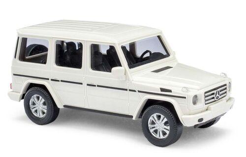 Busch H0 Automodell 1:87 51451 Mercedes -Benz G -Klasse 2008 Weiß