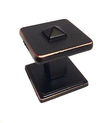 Qty 25 Oil Rubbed Bronze Kitchen Cabinet Drawer Closet Knob Pull Hardware