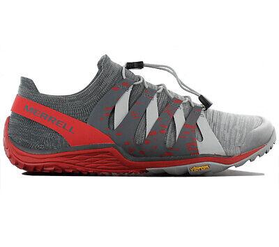 Gut Ausgebildete Merrell Trail Glove 5 3d Herren Barefoot Schuhe J48883 Grau Barfußschuhe Neu