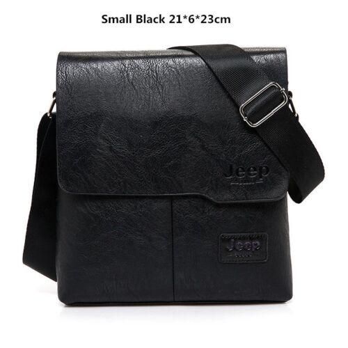 Shoulder Men/'s Messenger Bag Casual Business Leather Vintage Men Bags for Work