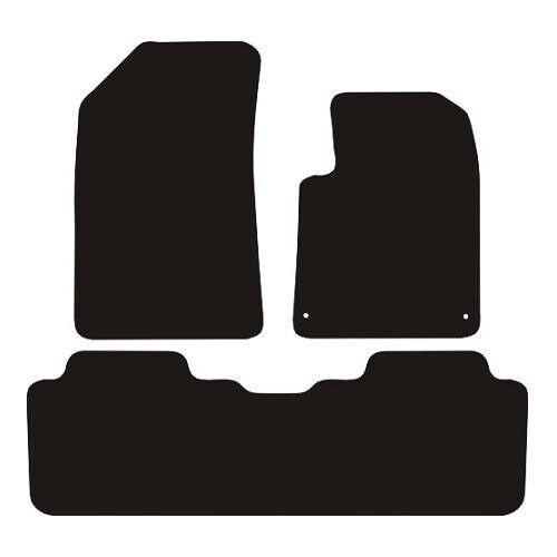 Citroen C5 MK1 2000-2008 Tailored Black Carpet Car Floor Mats Set 4 Made 2 Order