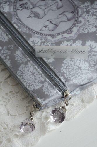 Kulturtasche Kosmetiktäschchen Schminktasche Shabby Vintage Mathilde M