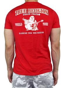 3abb17a6 True Religion Men Double Puff T-Shirt Horseshoe logo Premium Vintage ...