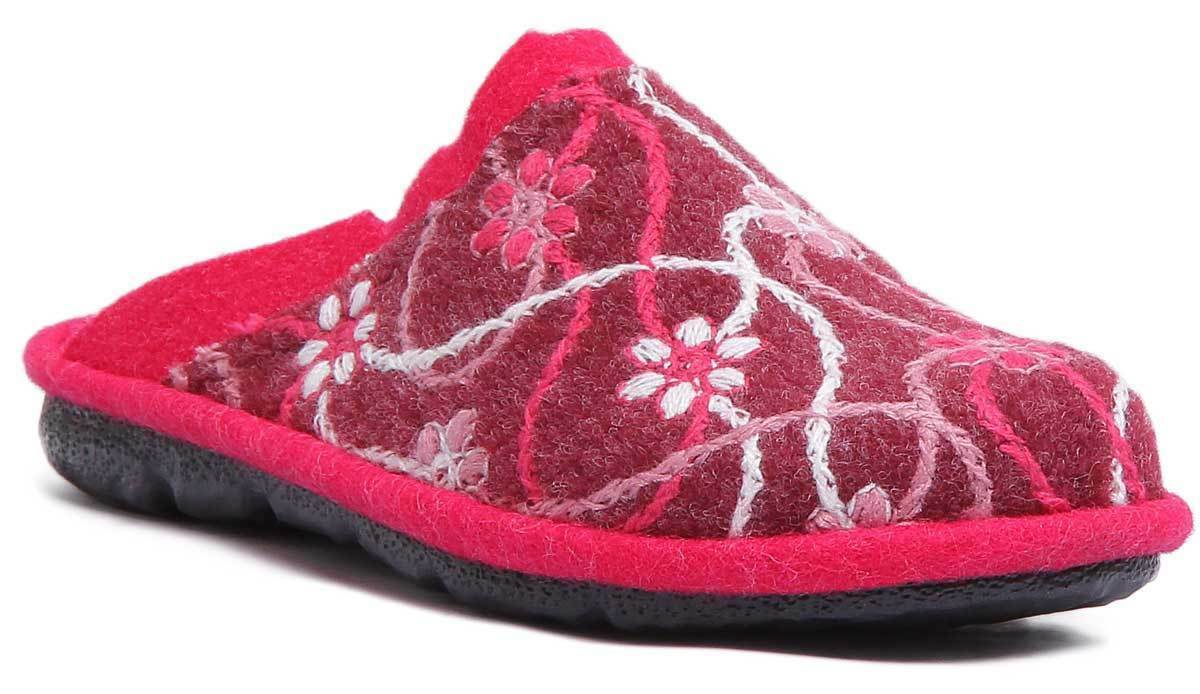 Romika Mikado 100 Damenschuhe Purple Purple Purple Wool Felt Sandale 0badb6
