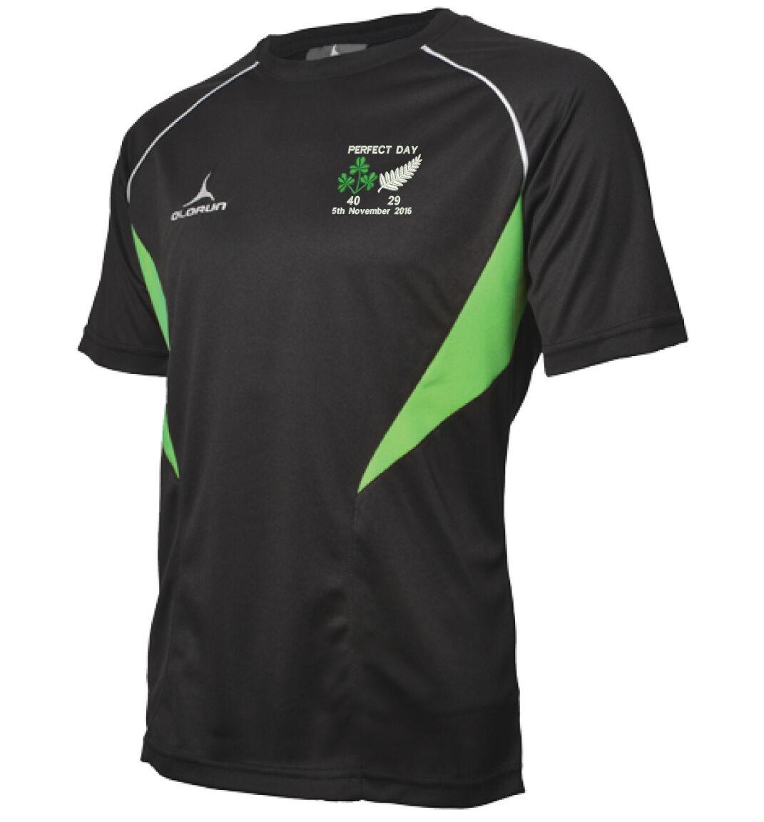 Irlande Vs Vs Irlande Nouvelle Zélande Perfect Day Rugby Flux T - Tailles De Chemise Y-XXXL 066fe9