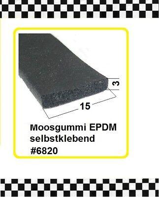 Gummiprofil 15x3mm 6820 Aus Berlin Zur Verbesserung Der Durchblutung € 3,25/m Genial 6m Moosgummi Selbstklebend