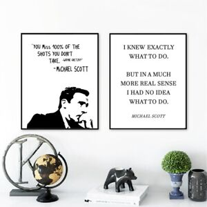 The-Office-TV-Show-Art-Canvas-Poster-Painting-Michael-Scott-Quotes-Office-Decor