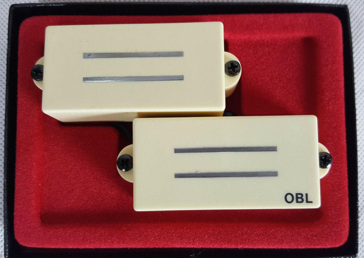OBL Bill Lawrence L-60 PB Precision Pickup Creme Tonabnehmer Bass Deutschland