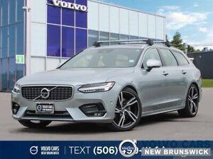 2019 Volvo V90 T6 R-Design AWD | WARRANTY TO 160KM