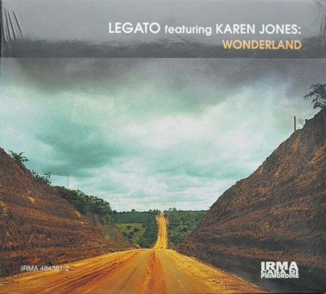 "CD LEGATO featuring KAREN JONES – ""WONDERLAND""  NEU OVP"