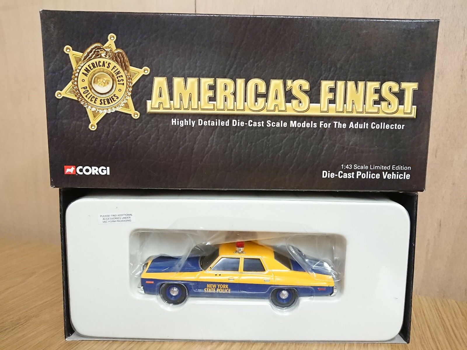 Corgi US06006 America's Finest Dodge Monaco New York State Police Ltd Edition