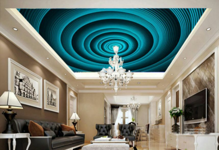 3D Deep Vortex Ceiling WallPaper Murals Wall Print Decal Deco AJ WALLPAPER GB