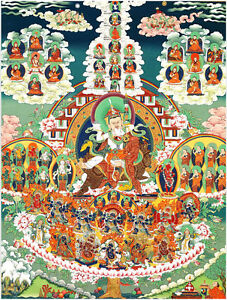 Deluxe-Jigsaw-Puzzle-1000-Piece-Buddhist-Scriptures-Story-Tibetan-TangKa-YC1142