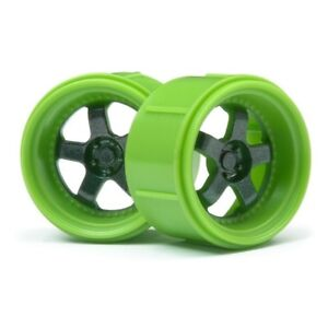 HPI-112817-Green-Work-Meister-S1-Wheel-for-the-Micro-RS4-4-pieces